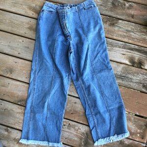 Liz Lange Maternity crop jeans size 16